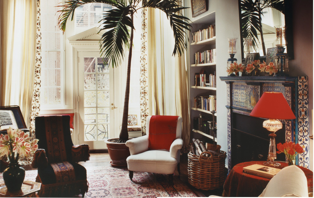 Interior Of An Apartment Designed By David Netto In Greenwich Village Photograph Via