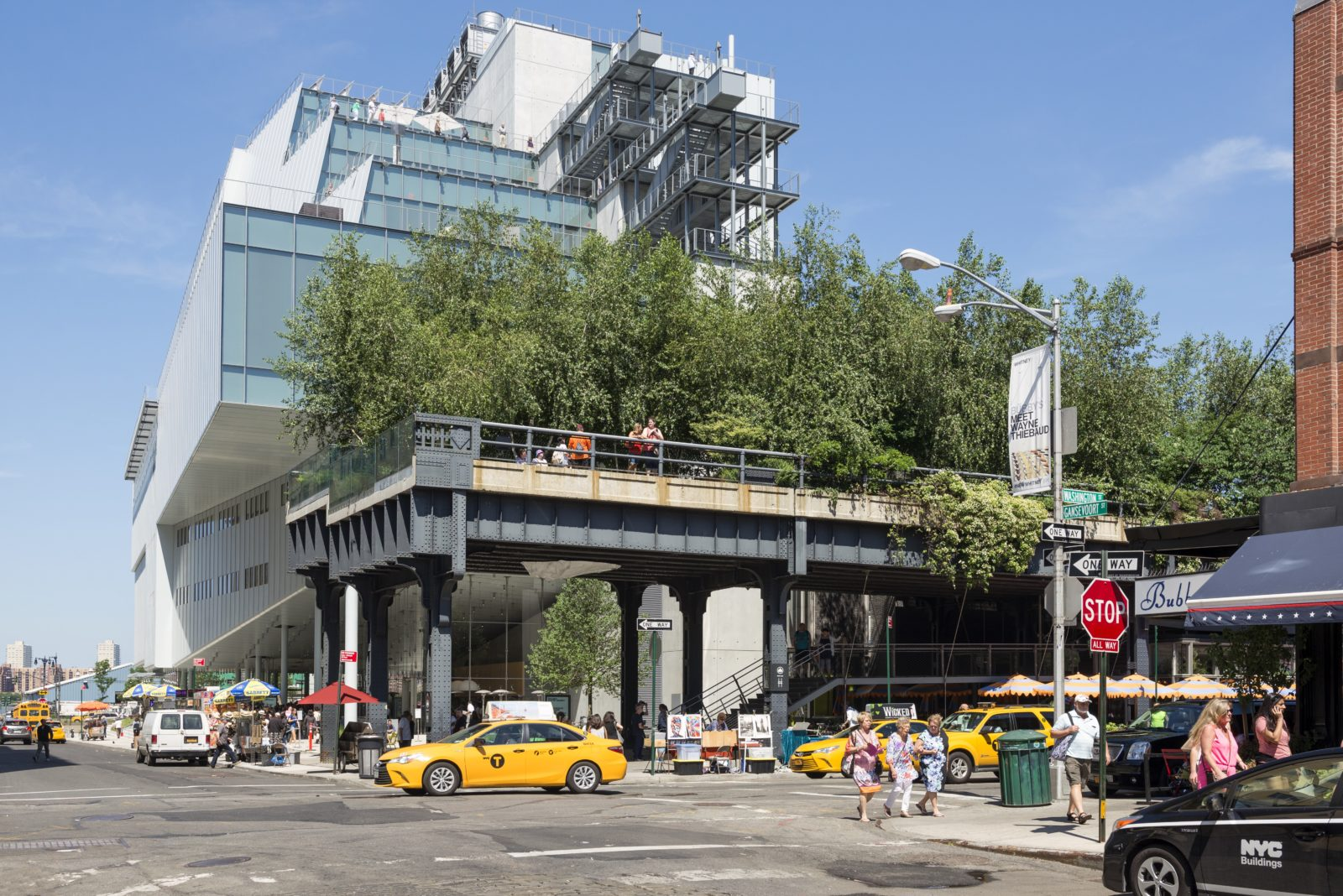 The High Line in New York, recipient of the 13th Veronica Rudge Green Prize in Urban Design. Photo by Timothy Schenck/Courtesy of Friends of the High Line