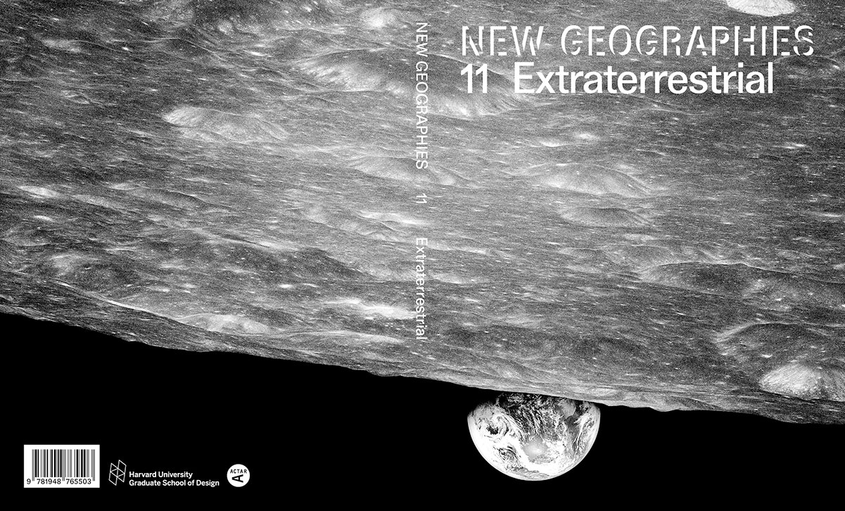 Book cover with image of the view of Earth from the moon's surface