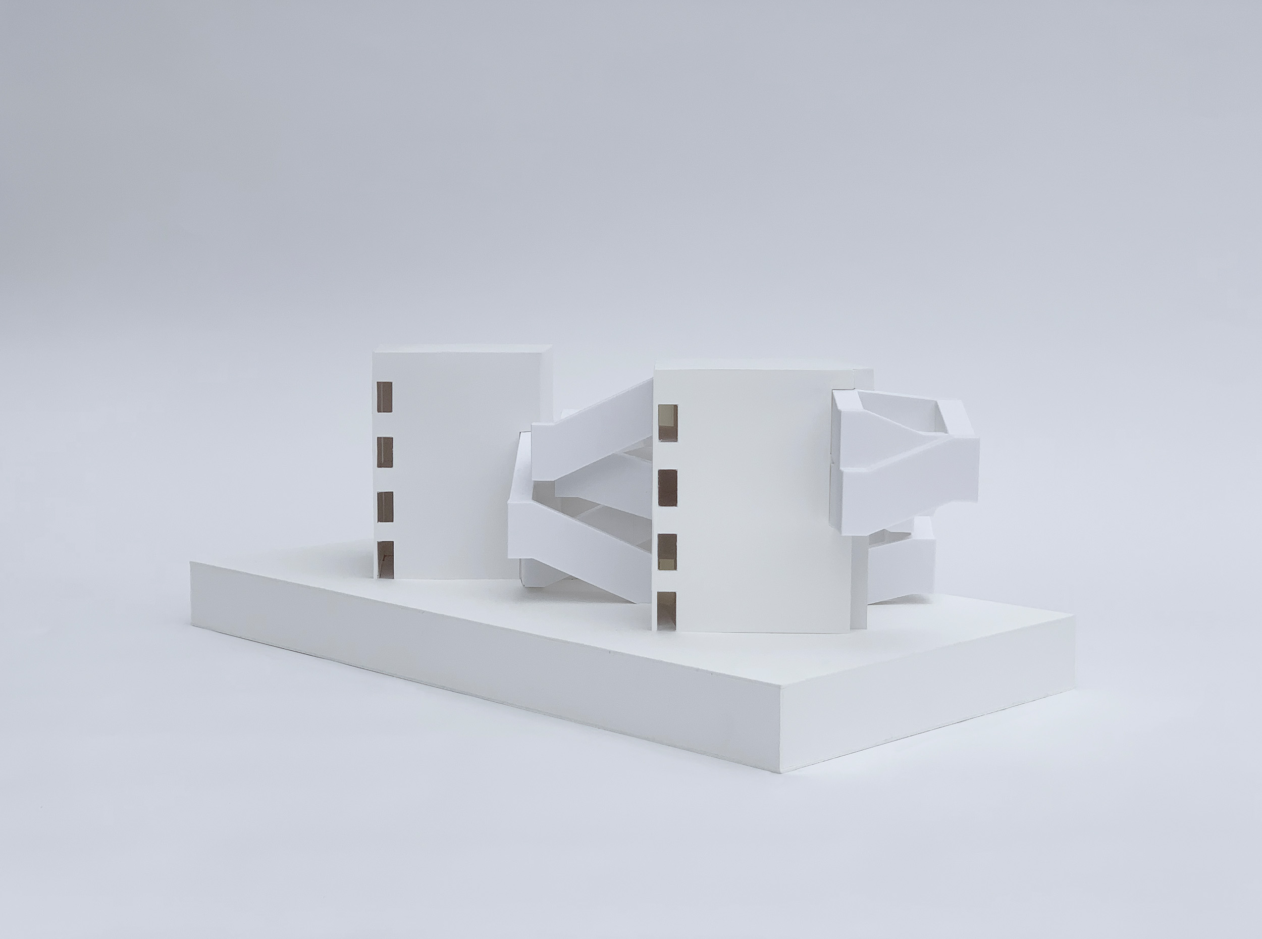 Image of model from corner
