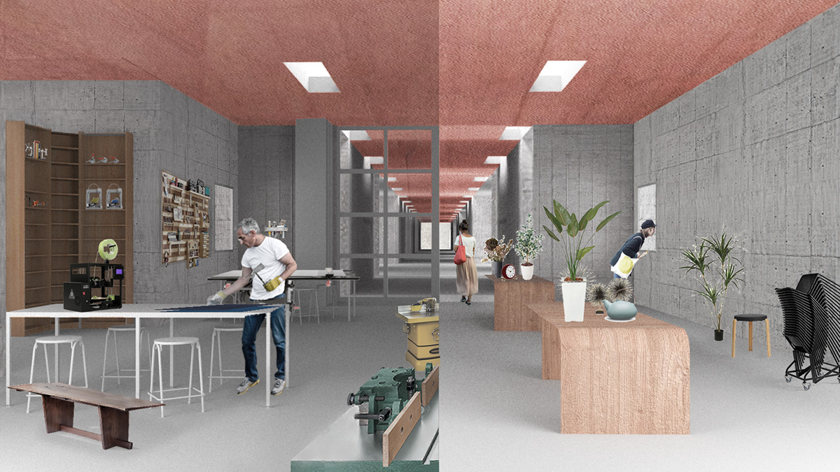 Market and workspace rendering