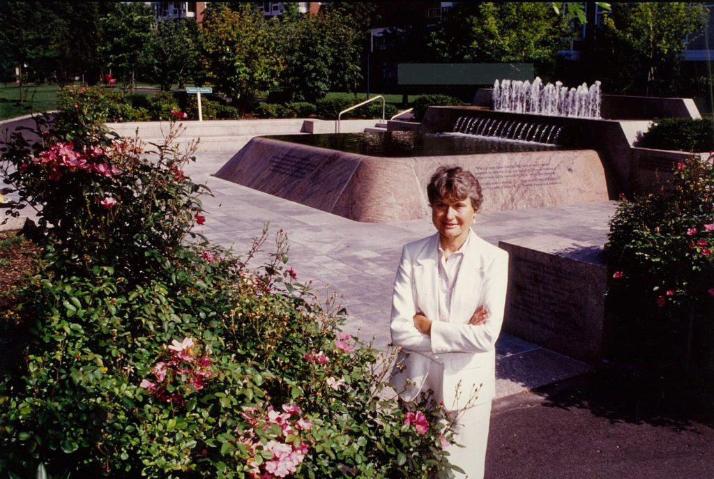 Carol Johnson at John F. Kennedy Park in Cambridge, Mass