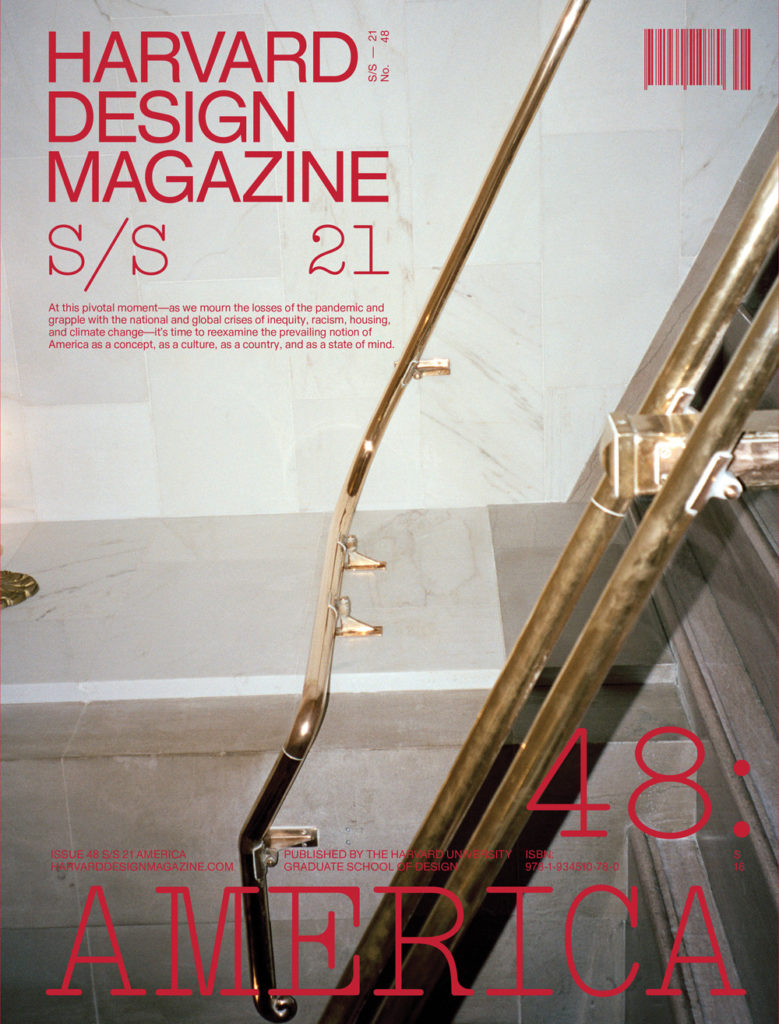 Harvard Design Magazine, number 48,